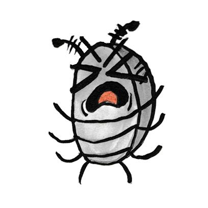 Sammy the Pillbug Stickers Lite messages sticker-2
