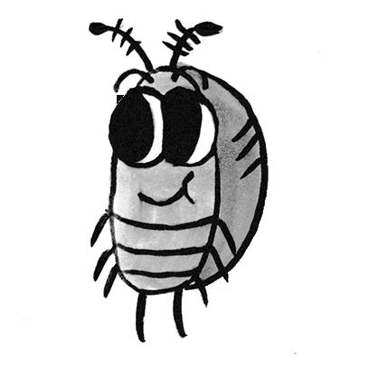 Sammy the Pillbug Stickers Lite messages sticker-0