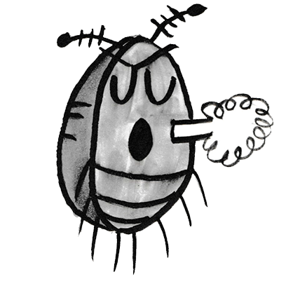 Sammy the Pillbug Stickers Lite messages sticker-11