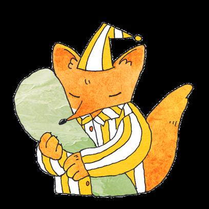 Fox Mori Stickers messages sticker-7