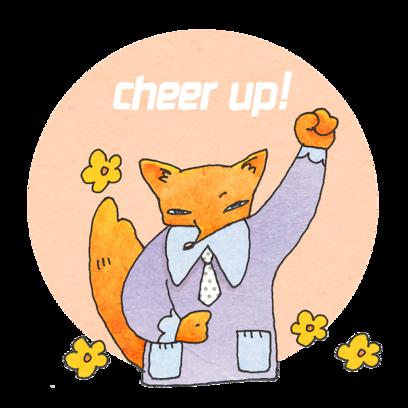 Fox Mori Stickers messages sticker-8