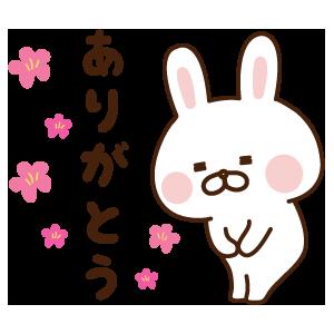出っ歯うさぎステッカー messages sticker-1