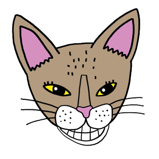 Bastet the Abyssinian Cat. Stickers by Design73 messages sticker-0
