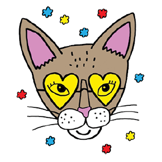 Bastet the Abyssinian Cat. Stickers by Design73 messages sticker-5