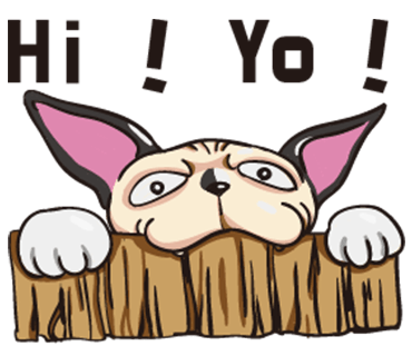 Tiger the Sphynx Cat. Stickers by Design73 messages sticker-1