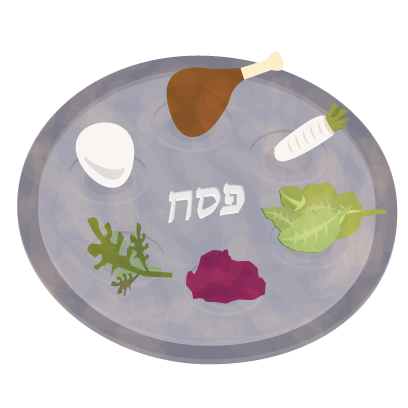 Pesach Sticker Pack messages sticker-1