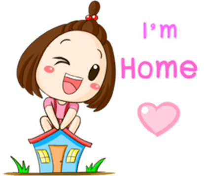 Cute Little Girl Sticker messages sticker-11