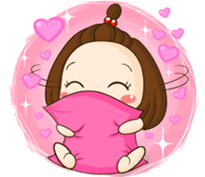 Cute Little Girl Sticker messages sticker-3