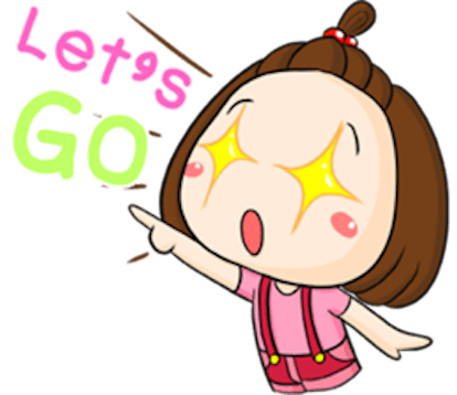 Cute Little Girl Sticker messages sticker-7