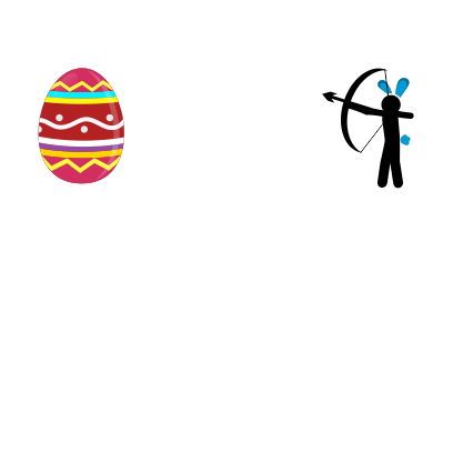 Animated Easter Stickmen messages sticker-2