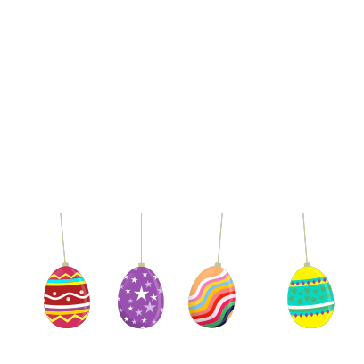 Animated Easter Stickmen messages sticker-4