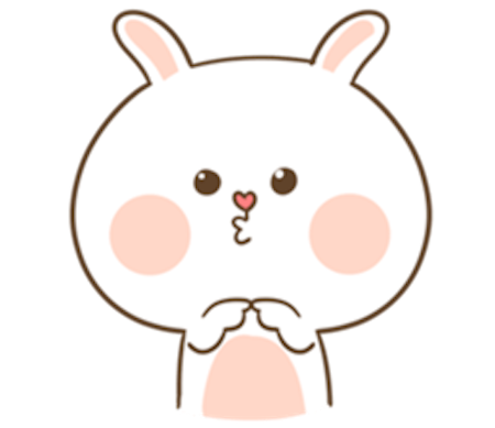 Fluffy Bear and Rabbit messages sticker-8