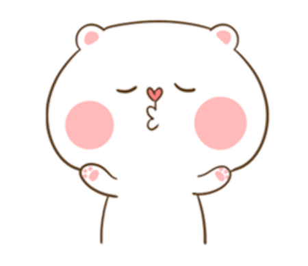 Fluffy Bear and Rabbit messages sticker-11