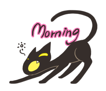 Midnight the Cat Stickers for iMessage messages sticker-0