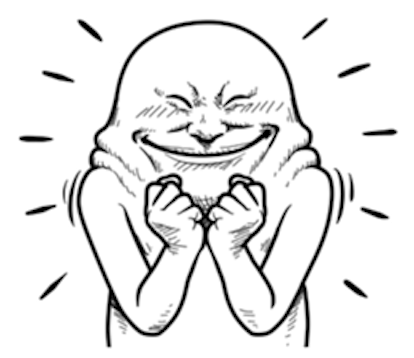Troll Expression messages sticker-3