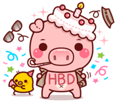 Pig Baby 3 messages sticker-2