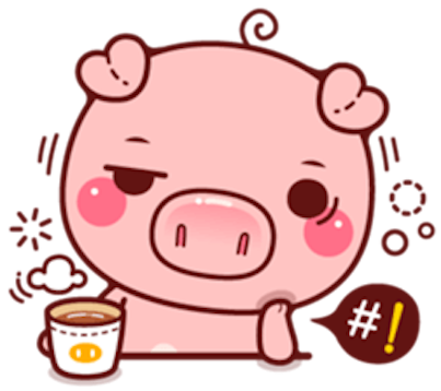 Pig Baby 3 messages sticker-5