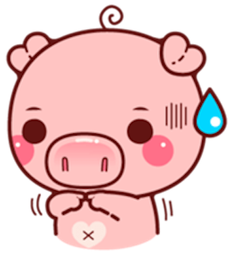 Pig Baby 3 messages sticker-11