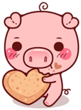 Pig Baby 3 messages sticker-3