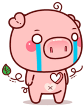 Pig Baby 3 messages sticker-4