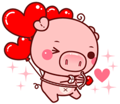 Pig Baby 3 messages sticker-1