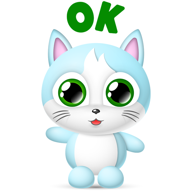 Cute Cats Collection by pim messages sticker-0