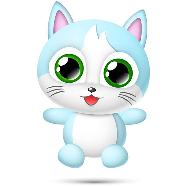 Cute Cats Collection by pim messages sticker-11