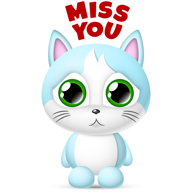 Cute Cats Collection by pim messages sticker-4