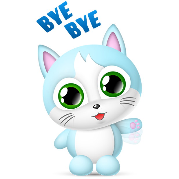 Cute Cats Collection by pim messages sticker-8