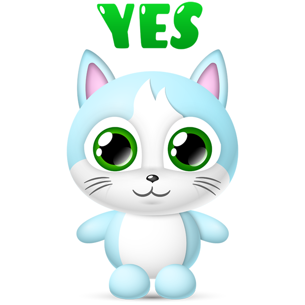 Cute Cats Collection by pim messages sticker-7