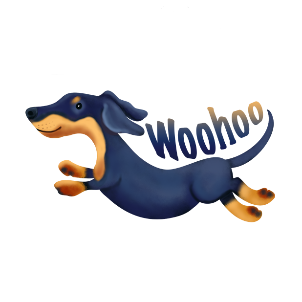 DachsMoji - Dachshund Emoji messages sticker-10