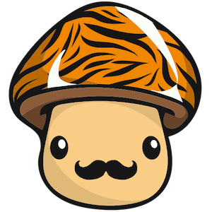 Tiger Mushroom messages sticker-11