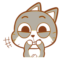 Cat Kitty Stickers messages sticker-3