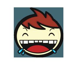Crazy Emoji Stickers messages sticker-4