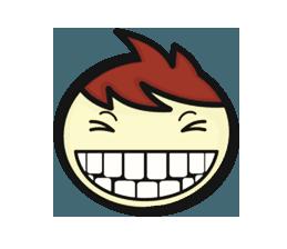 Crazy Emoji Stickers messages sticker-5