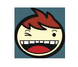 Crazy Emoji Stickers messages sticker-9