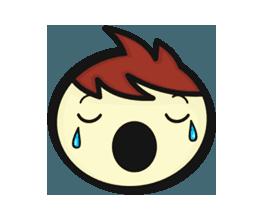 Crazy Emoji Stickers messages sticker-7