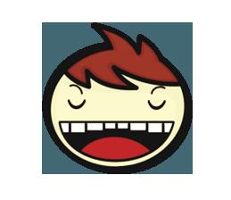 Crazy Emoji Stickers messages sticker-11