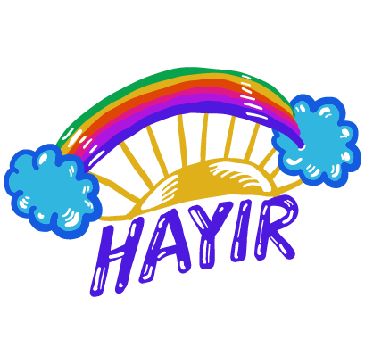 EvetHayır Stickers messages sticker-3