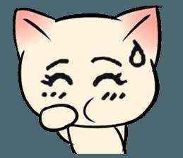 Cool Cat Emoji messages sticker-6