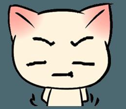 Cool Cat Emoji messages sticker-9