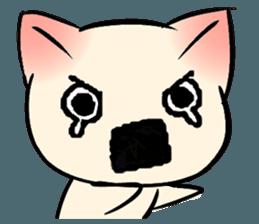Cool Cat Emoji messages sticker-7