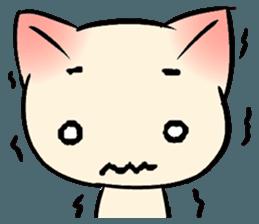 Cool Cat Emoji messages sticker-1