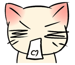 Cool Cat Emoji messages sticker-5