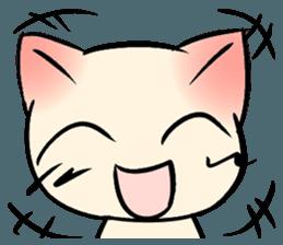 Cool Cat Emoji messages sticker-0