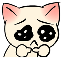 Cool Cat Emoji messages sticker-8