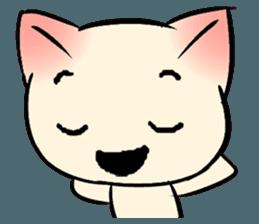 Cool Cat Emoji messages sticker-3