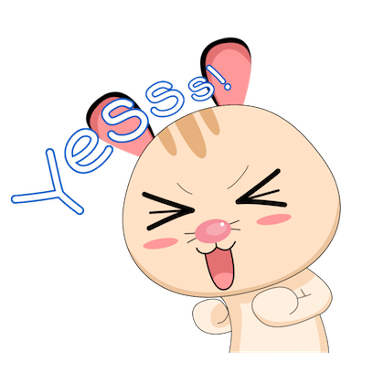 Cabbit - Stickers for iMessage messages sticker-1