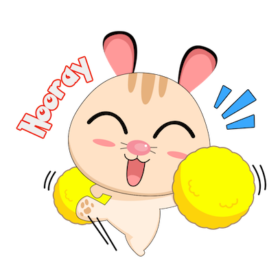 Cabbit - Stickers for iMessage messages sticker-2