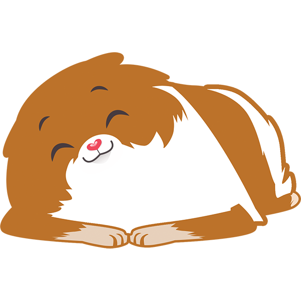 Pom Pom Pomeranian Stickers messages sticker-1